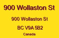 900 Wollaston St 900 Wollaston V9A 5B2