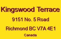 Kingswood Terrace 9151 NO. 5 V7A 4E1