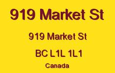 919 Market St 919 Market L1L 1L1