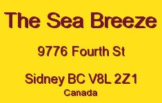 The Sea Breeze 9776 Fourth V8L 2Z1