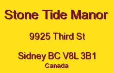 Stone Tide Manor 9925 Third V8L 3B1