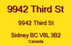 9942 Third St 9942 Third V8L 3B2