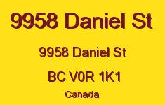 9958 Daniel St 9958 Daniel V0R 1K1