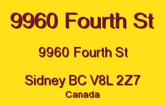 9960 Fourth St 9960 Fourth V8L 2Z7