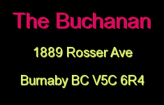 The Buchanan 1889 ROSSER V5C 6R4