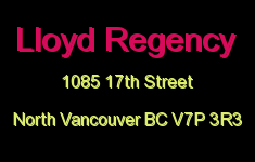 Lloyd Regency 1085 17TH V7P 3R3