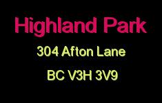 Highland Park 304 AFTON V3H 3V9