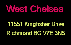 West Chelsea 11551 KINGFISHER V7E 3N5