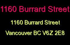 1160 Burrard 1160 BURRARD V6Z 2E8