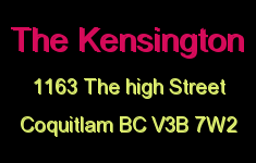 The Kensington 1163 THE HIGH V3B 7W2