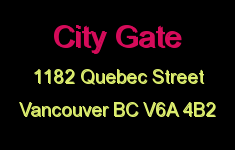 City Gate 1182 QUEBEC V6A 4B2