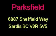 Parksfield 6887 SHEFFIELD V2R 5V5