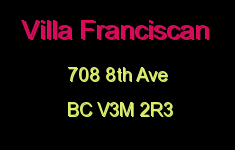 Villa Franciscan 708 8TH V3M 2R3
