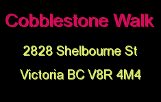 Cobblestone Walk 2828 Shelbourne V8R 4M4