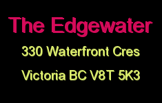 The Edgewater 330 Waterfront V8T 5K3