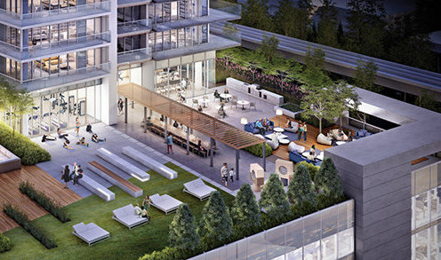 4567 Lougheed Highway, Brentwood Town Centre, Burnaby, BC V5C 3Z6, Canada Outdoor Amenities!