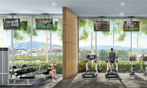 4567 Lougheed Highway, Brentwood Town Centre, Burnaby, BC V5C 4A1, Canada Gym!