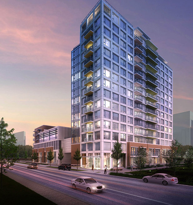 9019 Cook Road, Richmond, BC V6Y 0G6, Canada Condo Tower Exterior!