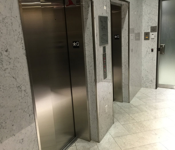 Alexandra Lobby Elevators!
