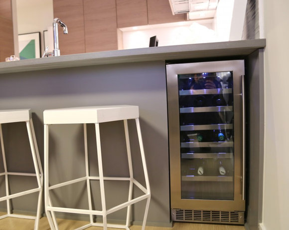 Display Suite Wine Fridge!