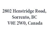 2802 Henstridge 2802 Henstridge V0E 2W0