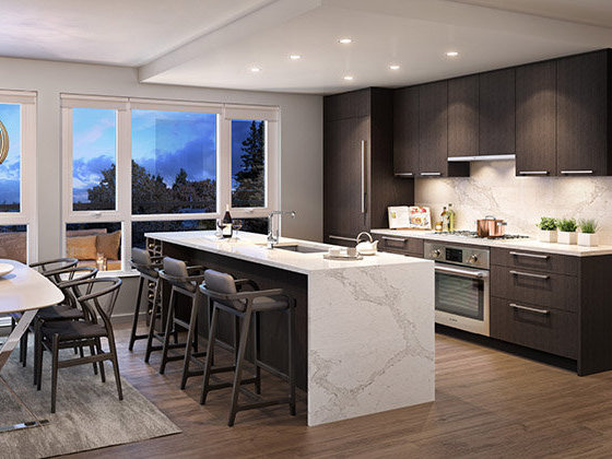 7810 Granville St, Vancouver, BC V6P 4Z2, Canada Kitchen!