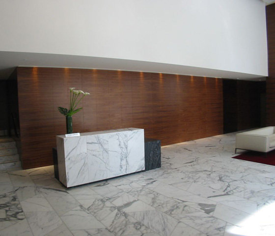 Concierge Desk in Residential Lobby!