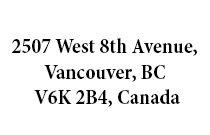 2507 West 8th 2507 8TH V6K 2B3