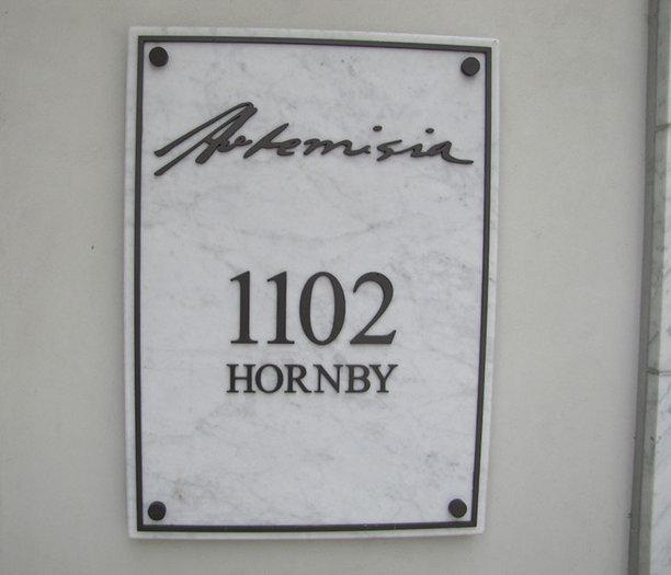Artemisia 1102 Hornby!