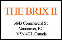 The Brix II 3643 Commercial V5N 4G1