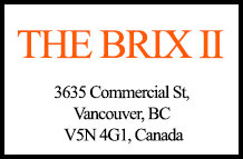 The Brix II 3635 Commercial V5N 4G1