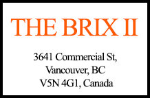 The Brix II 3641 Commercial V5N 4G1