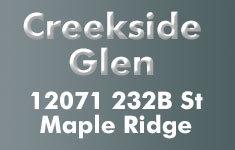 Creekside Glen 12071 232B V2X 0Z7
