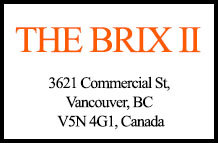 The Brix II 3621 Commercial V5N 4G1