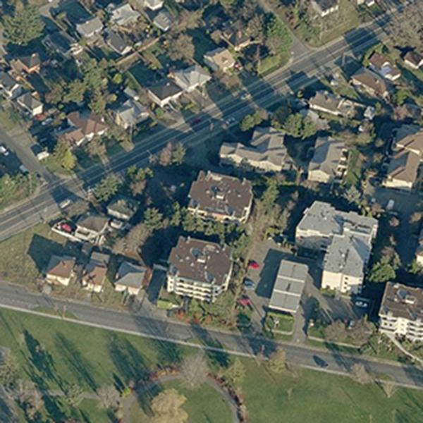 Victorian - 949 Cloverdale Victoria BC - Birds Eye View!