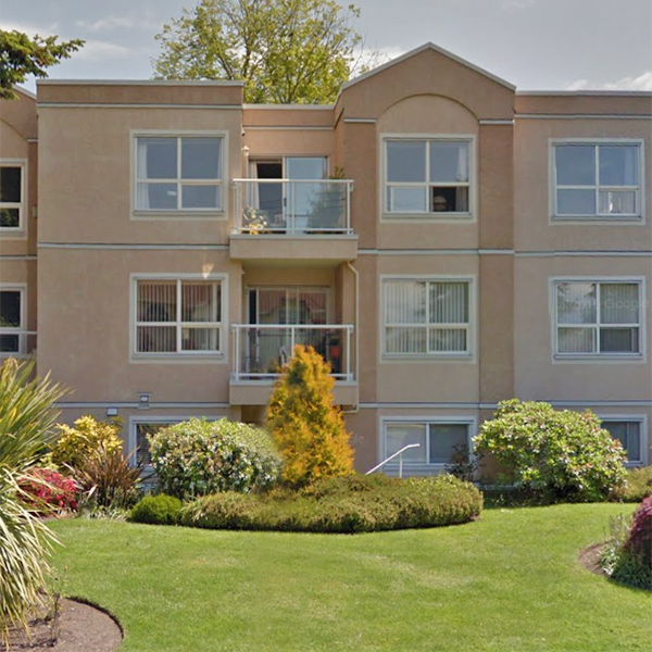 The Waterford - 9861 5 Street, Sidney, BC - Building Exterior!