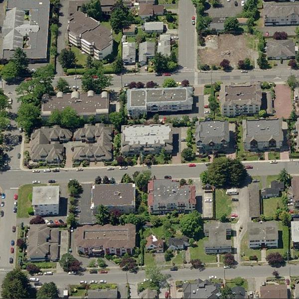 Cedarview - 9938 4 Street, Sidney, BC - Birds eye view!