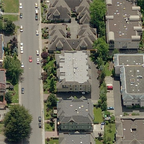 Cedarview - 9938 4 Street, Sidney, BC - Birds eye view!