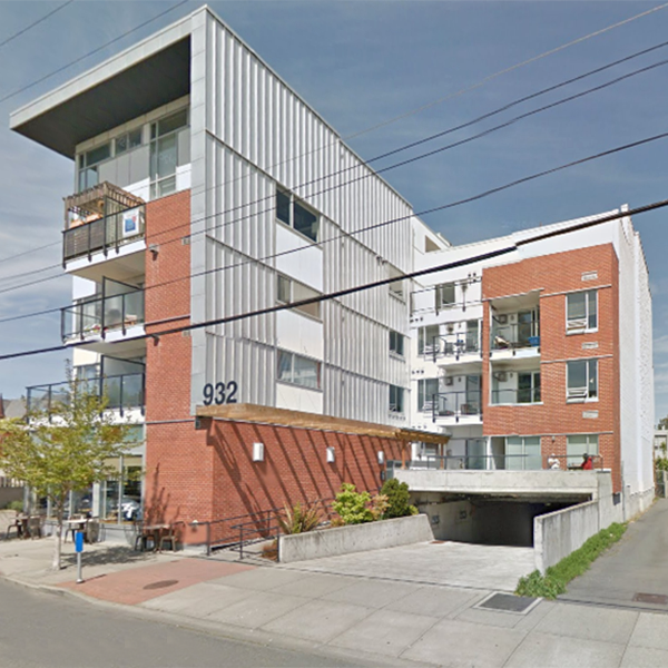 The Urban - 932 Johnson Street, Victoria, BC - Building exterior!
