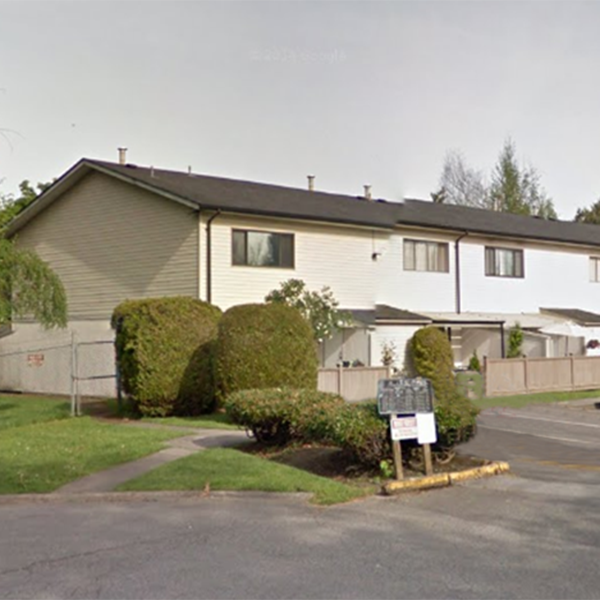 Portage Estates - 5221 204 St, Langley, BC- Typical part of the complex!