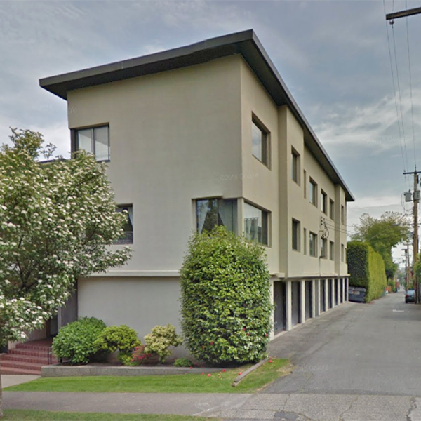 Gwenlyn Manor - 2494 Cornwall Ave, Vancouver, BC - Building exterior!