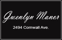 Gwenlyn Manor 2494 CORNWALL V6K 1B8