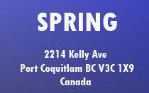 Spring 2214 KELLY V3C 1X9