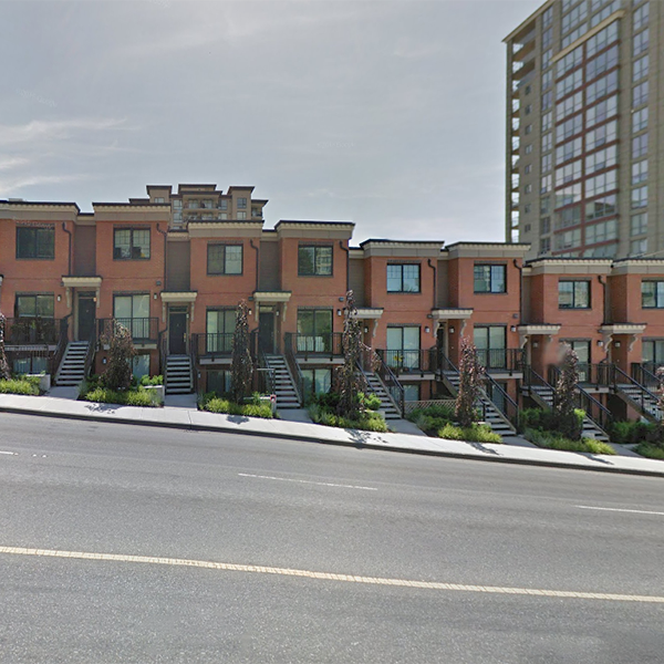 Brickstone Walk 2 - 838 Royal Ave, New Westminster, BC - Building exterior!