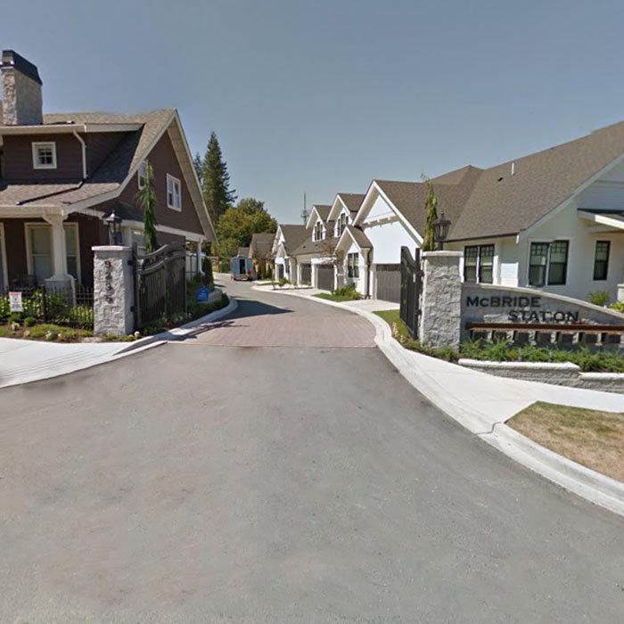 9235 McBride Street, Langley, BC V1M 2R4, Canada Subdivision Entrance!