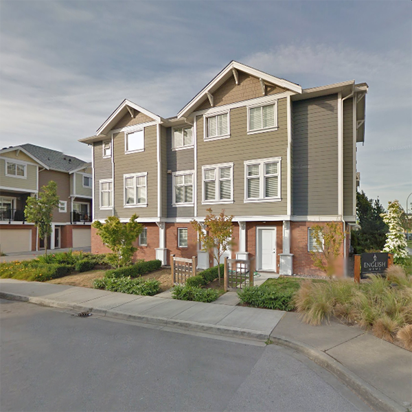 English Mews 2 - 1111 Ewen Avenue, New Westminster, BC - Building exterior!