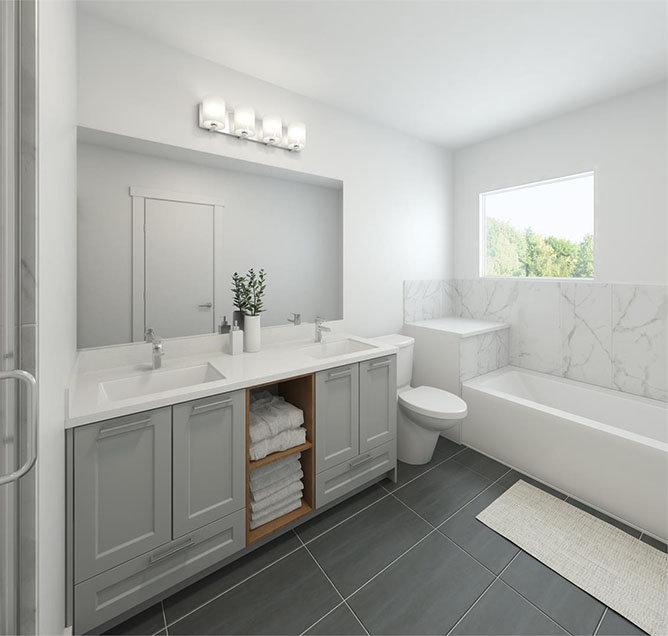 246 171 St, Surrey, BC V3S 9P4, Canada Bathroom!