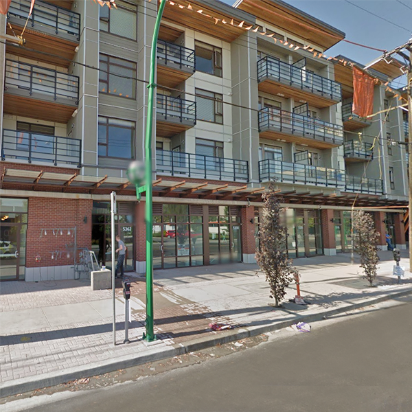 Metro Two - 5352 Grimmer Street, Burnaby, BC - Building exterior!