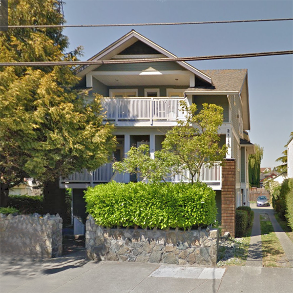 2116 Richmond Rd, Victoria, BC - Building exterior!