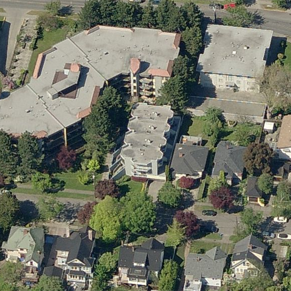 1160 Burdett - 1160 Burdett Ave, Victoria, BC - Birds eye view!